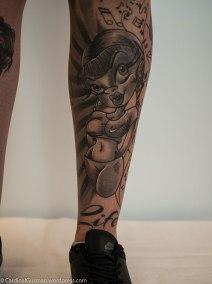 Hollie Mayne inked by John Jamison Rainey / ink by Snoopytats.