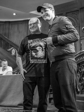 Julian Carson & Danny O'Donoghue.