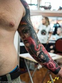 Tomash Blaszczak at Hydraulix Tattoos Studio