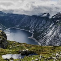 Ringedalsvatnet - on the way to Trolltunga