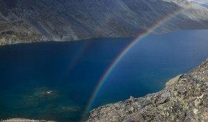Double rainbow, Besseggen, Jotunheimen.