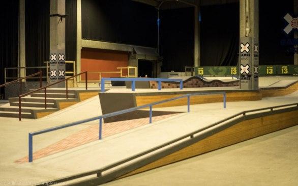 Skatepark at Aker Brygge