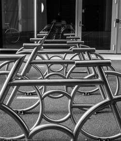 The bikes in Bjørvika (in the Barcode area).