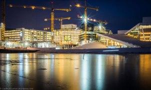 Oslo Opera by night. January 2017.