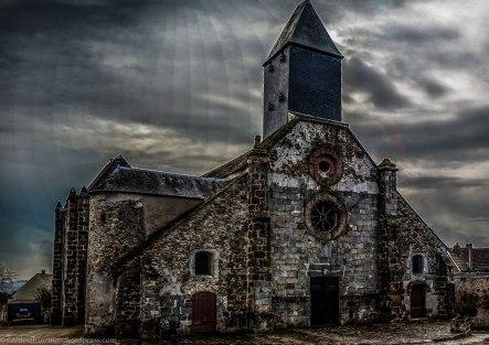 Church near Linas, France.