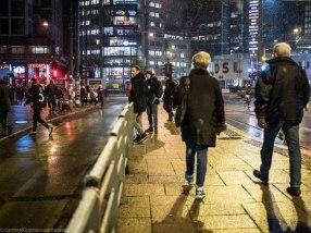 Snow / night / street photography