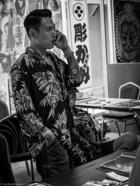 "Read the interview with Ru Hwan about ""Tattooing in Korea"" in the blog."