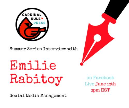 Summer Interview Series-DIY Social Media Management - cardinalrulepress.com