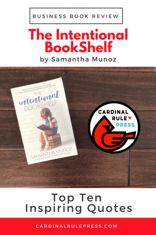 Business Book Review-The Intentional BookShelf - cardinalrulepress.com