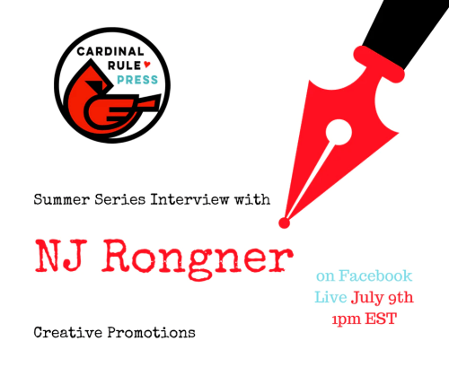 Summer Interview Series-Creative Promotions- cardinalrulepress.com