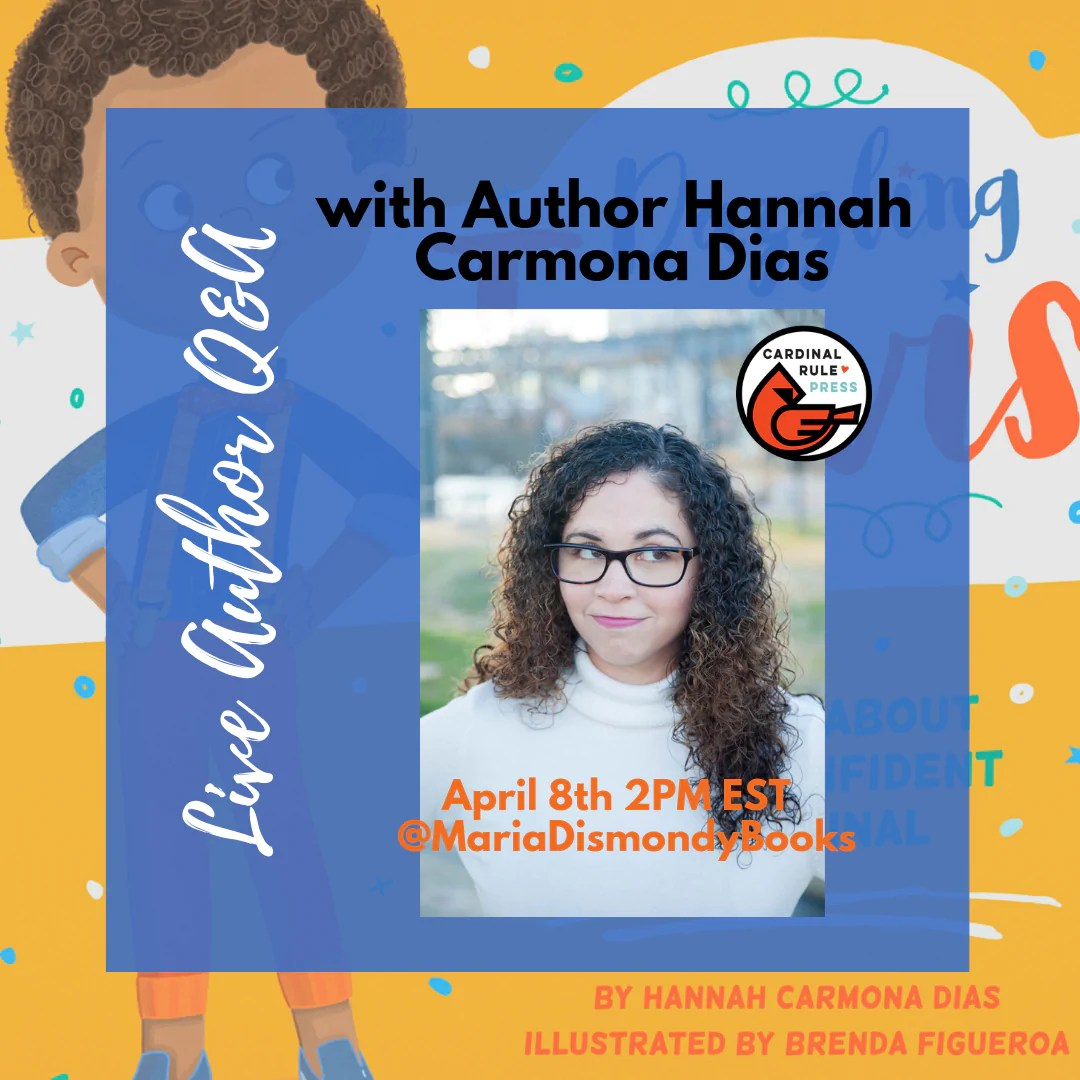 Live Author Q&A with Author Hannah Carmona Dias