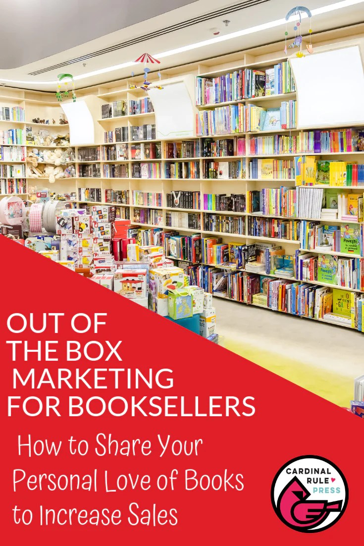 How To Share Your Personal Love Of Books With Your Customers