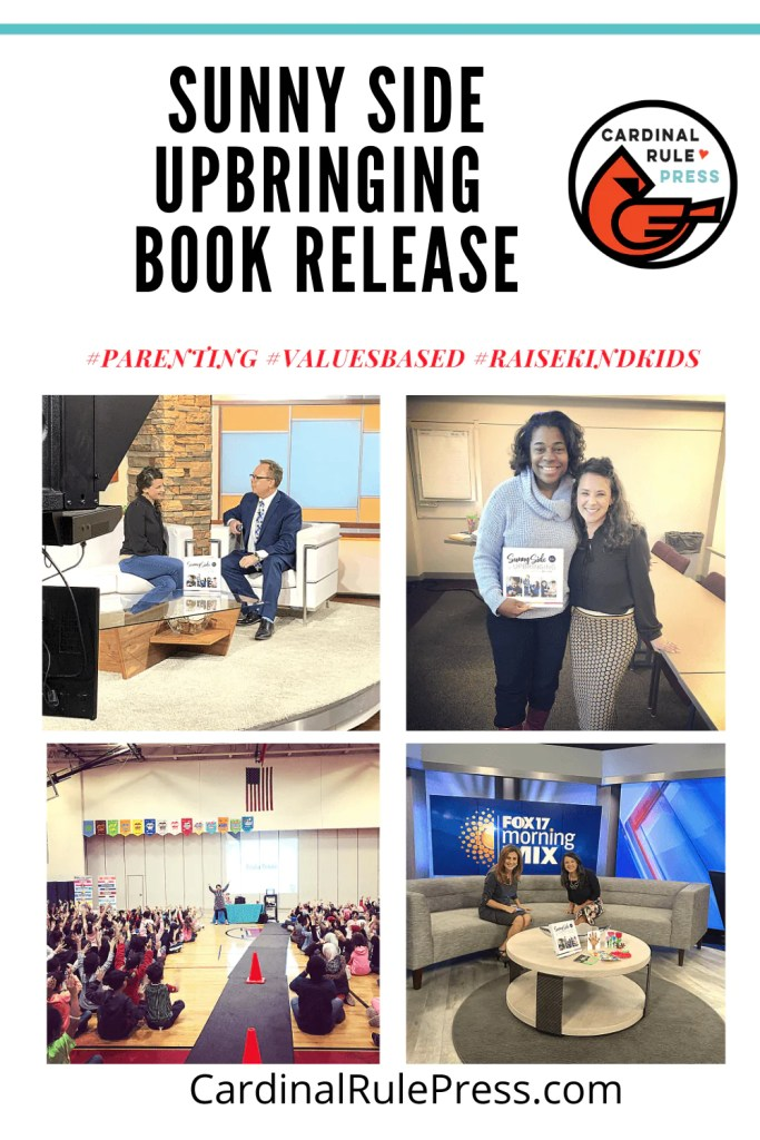 The Launch of Sunny Side Upbringing-A parenting book that teaches positive character traits. A parenting book that is about REAL LIFE. A parenting book like no other on the market. #ParentingBook #Parenting #BooksToRead #BooksWorthReading #BookRelease #BookLaunch
