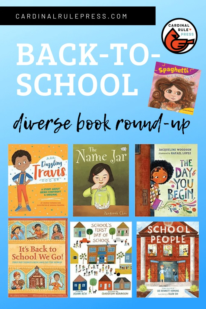 A Back To School Curated Book List Made Just for You! - Just in time for Back to School, we've got a very special CARDINAL RULE PRESS CURATED BOOK LIST of some of our very favorite books! #BooksWorthReading #BooksToRead #BackToSchool #DiverseBookRoundUp