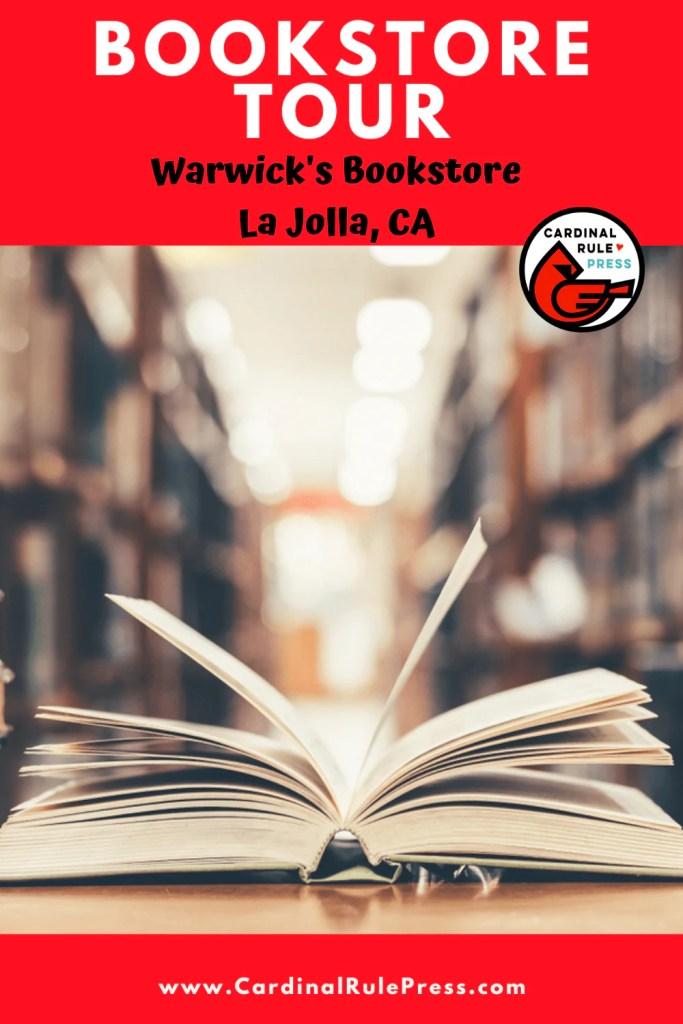 Bookstore Tour warwicks