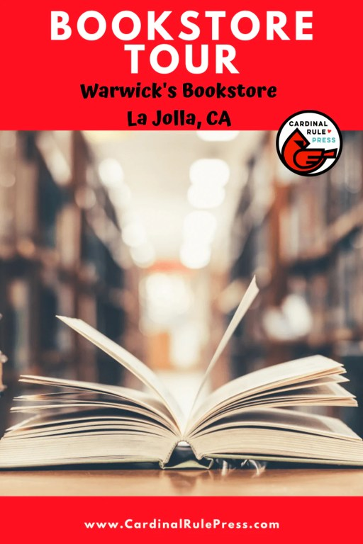 Summer Bookstore Tour: Warwick's in La Jolla, CA - We got to take an inside look into these creative spaces that house our favorite things---books and books and readers! #Bookstore #BookstoreTour #WarwicksBookstore