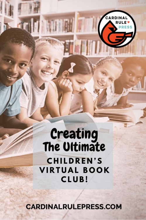 Creating the Ultimate Children's Virtual Book Club-How to get started? Check out our tips! #Librarians #Booksellers #VirtualBookClub #BookClub
