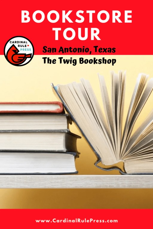 Bookstore Tour: The Twig Bookshop in San Antonio, TX-We got to take an inside look into these creative spaces that house our favorite things---books and books and readers! #Bookstore #BookstoreTour #SummerTour
