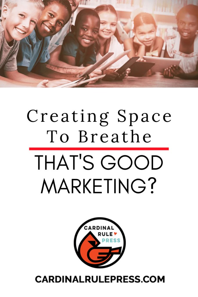 "Creating Space to Breathe… Thats Good Marketing? We're offering some tricks our marketing experts have discovered that allow for some ""creative space"" to breathe and dream. #GoodMarketing #CreativeSpace"