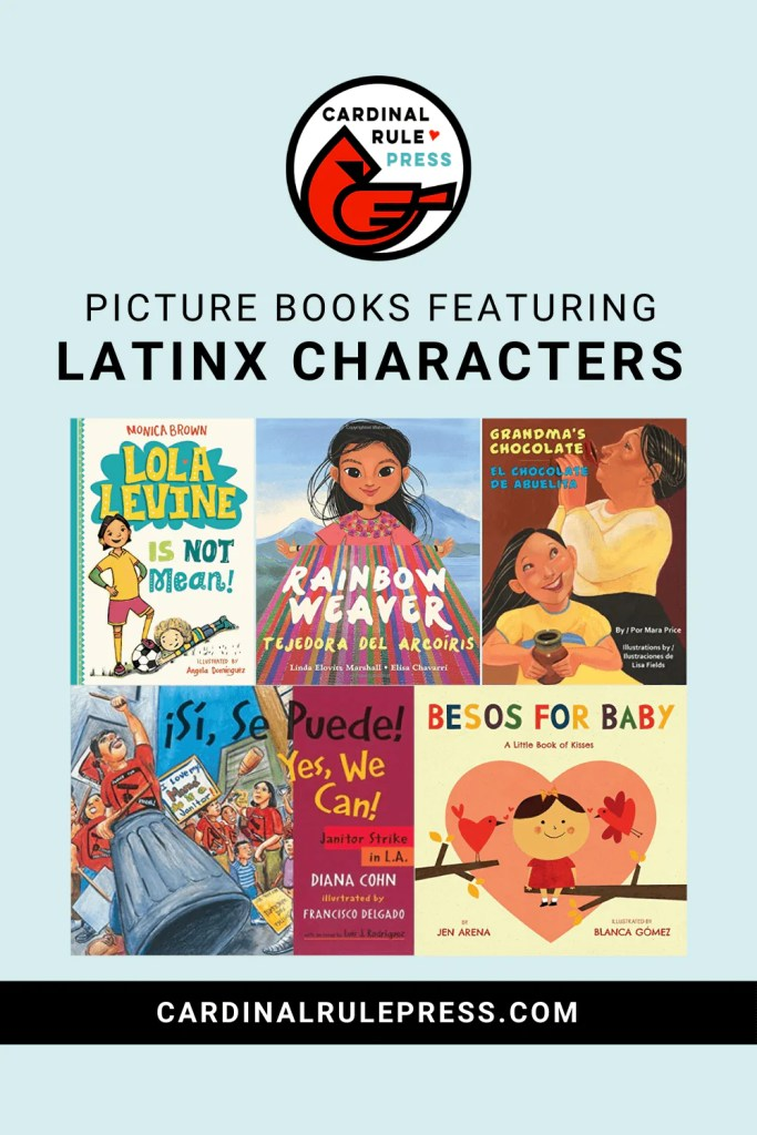 Picture Books Featuring LatinX Characters. We are celebrating National Hispanic Heritage Month by looking at some of our favorite picture books featuring LatinX characters! #LatinX #PictureBooks #ChildrensBook #NationalHeritage