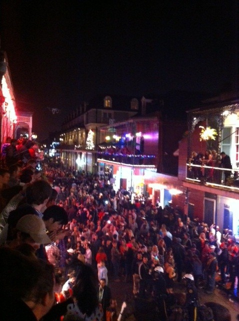 Red out on Bourbon!