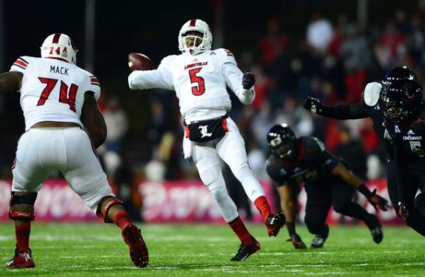 USP NCAA FOOTBALL: LOUISVILLE AT CINCINNATI S FBC USA OH