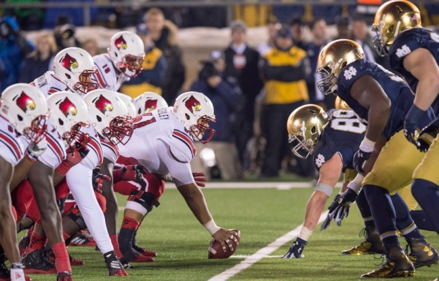 NCAA Football: Louisville at Notre Dame