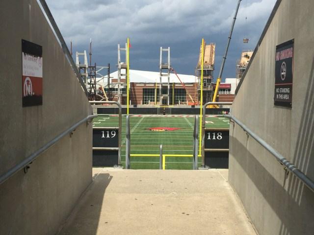 Sec 118-119 Papa Johns cardinal Stadium