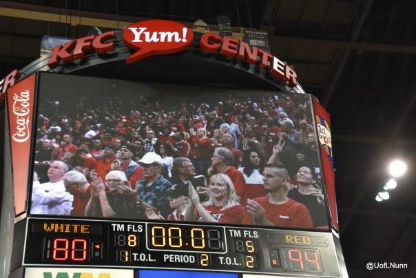 Red-White scrimmage final score