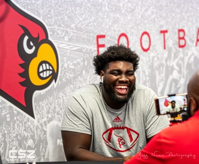 Louisville Football Media Day 2019-16
