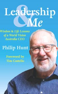 Book cover of Leadership and Me by Philip Hunt