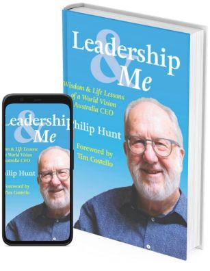 Leadership and Me, available both in print and as e-book.