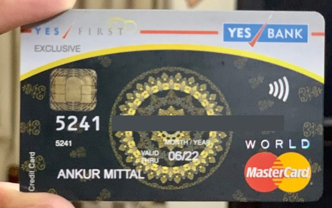 Yes Bank First Exclusive Credit Card Features & Review 2