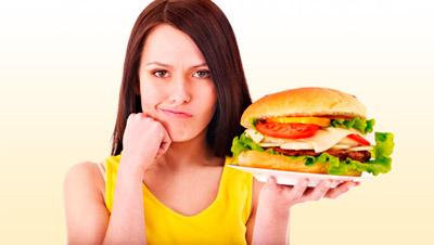 Вредная пища печени