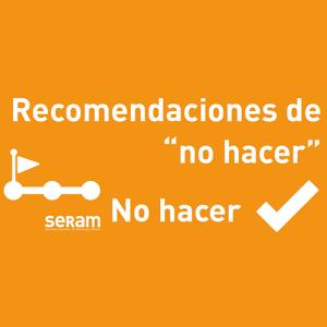 Recomendaciones de no hacer de la Sociedad Española de Radiología Médica