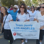Walking With the American Heart Association: Valerie Bertinelli and Chester Cheetah