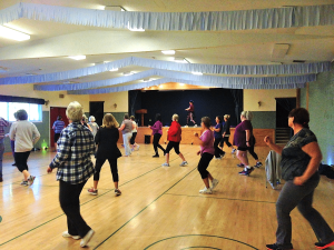 Fitness classes in Coombs B.C. (near Parksville and Qualicum Beach).