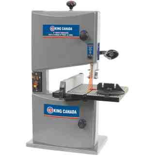 "King 9"" wood Bandsaw with laser"