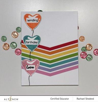 Birthday Love Mini Delights for CAS(e) This Sketch #389