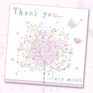 Thank you, greeting card, Phoenix Trading