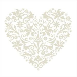 LS53 Silver Heart Valentines