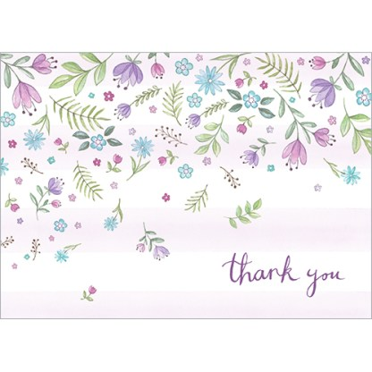 Thank You Flowers Notecards