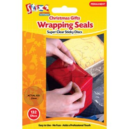 gift wrapping seals