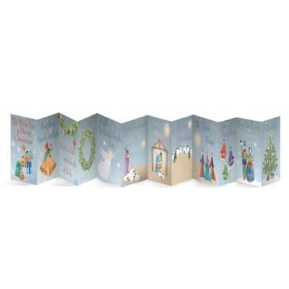 christmas frieze cards