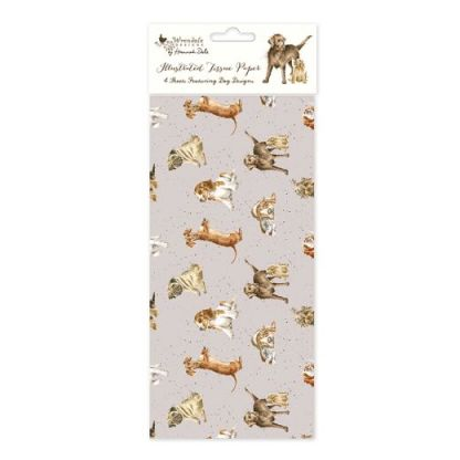 Dogs tissue paper