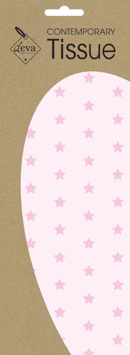 Baby Pink Stars Tissue
