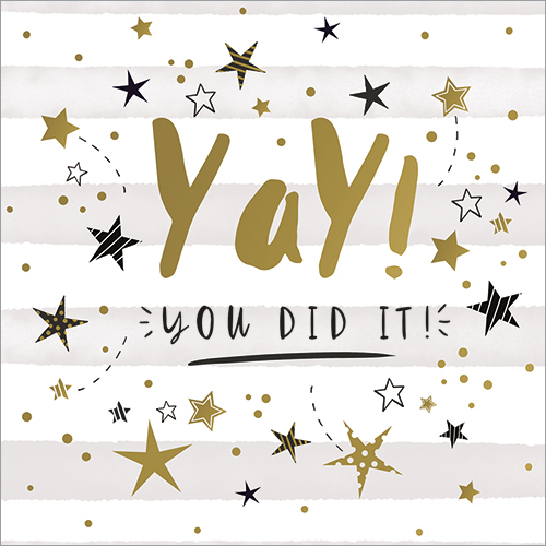 Yay! You did it!