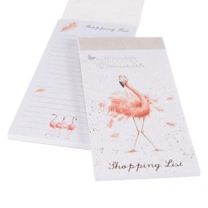 Flamingo shopping pad