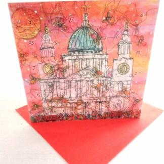 Evensong at St Pauls Advent Calendar Card