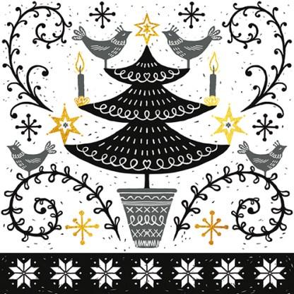 Nordic Tree Christmas Cards